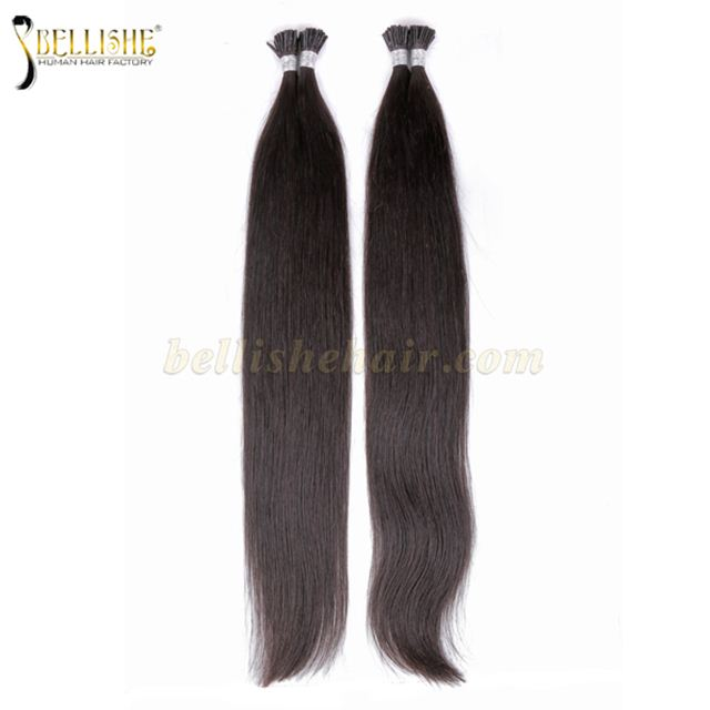 I Tip Hair Peruvian Hair Virgin Remy Human Hair Extension Bellishe